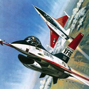America's Deadly Dogfighter, the Yf - 16 by Wilf Hardy