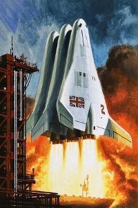 BAC's 'Mustard' Space Transporter by Wilf Hardy