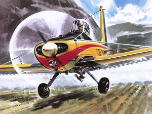 Cessna Agwagon by Wilf Hardy