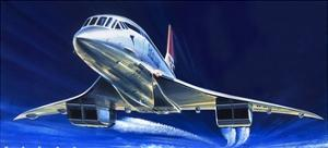Concorde by Wilf Hardy