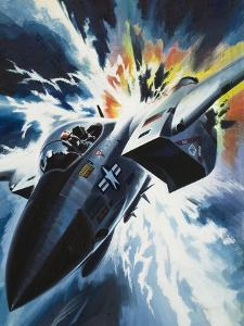 Danger from the Skies by Wilf Hardy