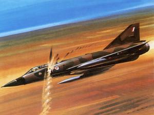 Dassault Mirage Iii-0 by Wilf Hardy