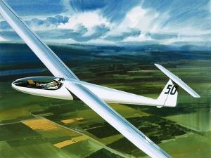 Dr. Brennig James, the First British Pilot to Fly 500 Miles in a Glider by Wilf Hardy