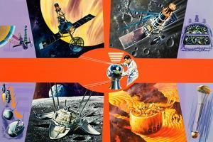 Early Unmanned Space Missions by Wilf Hardy