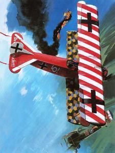 Fokker D Vii by Wilf Hardy