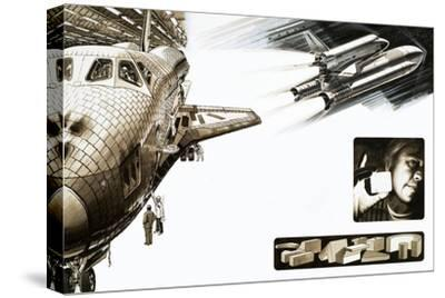 Montage of Images Relating to the Space Shuttle