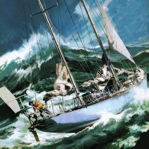 Sailing Round the World -- the Wrong Way by Wilf Hardy