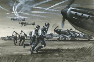 The Battle of Britain by Wilf Hardy