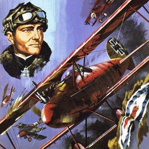 The Red Baron by Wilf Hardy