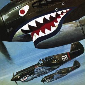 Tigers over Asia by Wilf Hardy