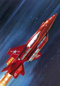 Unidentified NASA Rocket Plane by Wilf Hardy