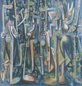 The Jungle, 1943 by Wilfredo Lam