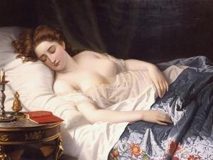 "Imogen from Shakespeare's ""Cymbeline"", 1872 by Wilhelm Ferdinand Souchon"