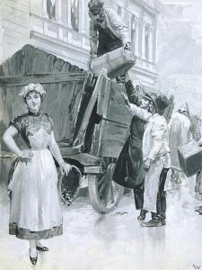 Departure, 1907 by Wilhelm Gause