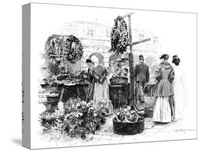 The Flower Market, 1901