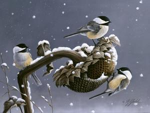 Winter Trio by Wilhelm Goebel