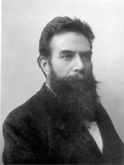 Wilhelm Konrad Roentgen circa 1896--Giclee Print