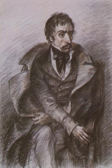 Wilhelm Kuechelbecker, Russian Poet and Decembrist Rebel--Giclee Print