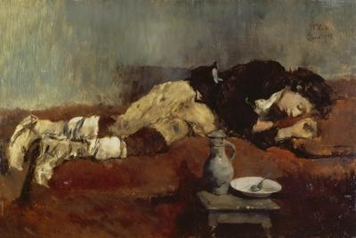Savoyard Boy Sleeping, 1869