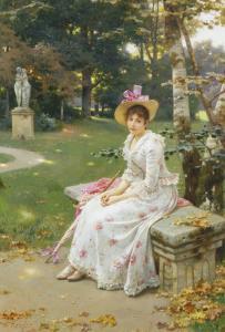 Love's Fair Garden by Wilhelm Menzler