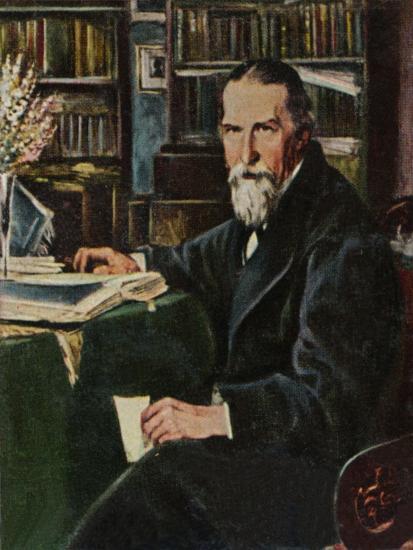 'Wilhelm Raabe 1831-1910', 1934-Unknown-Giclee Print