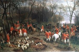 Elizabeth at the Hunt, Late 19th Century by Wilhelm Richter