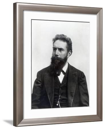 Wilhelm Rontgen-German photographer-Framed Giclee Print