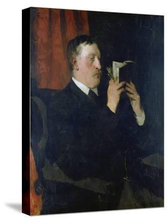Portrait of the Poet Martin Greif, 1876