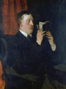 Portrait of the Poet Martin Greif, 1876 by Wilhelm Trübner