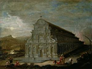 The Seven Wonders of the World: the Temple of Of Diana at Ephesus by Wilhelm van Ehrenberg