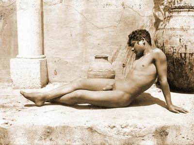 Reclining Nude Male, C. 1898