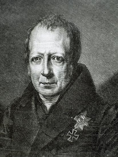 Wilhelm Von Humboldt (1767 1835)--Giclee Print