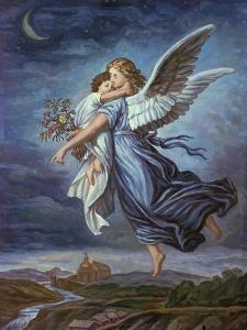The Guardian Angel by Wilhelm Von Kaulbach