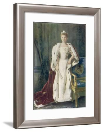 Wilhelmina Queen of Holland Reigned 1890-1948, She Abdicated in Favour of Her Daughter Juliana--Framed Giclee Print
