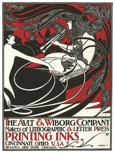 Ault & Wiborg Company by Will Bradley