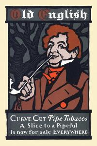 Old English, Curve Cut Pipe Tobacco by Will Bradley