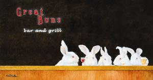 Great Buns B & G by Will Bullas