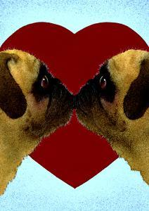 Pugs & Kisses by Will Bullas