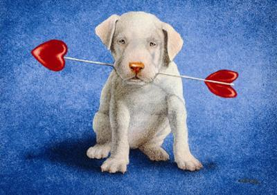 Puppy Lover by Will Bullas