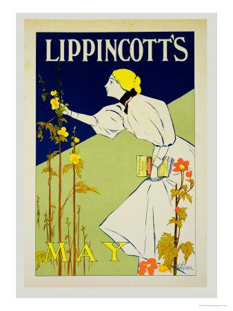 "Reproduction of a Poster Advertising ""Lippincott"""