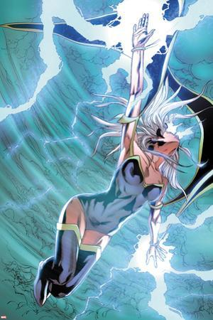 X-Men No.22: Storm Flying, Expelling Lightning and Energy