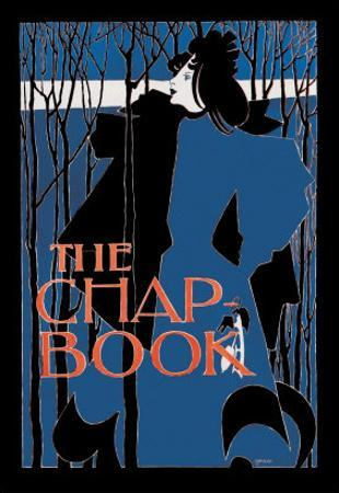 """The Chap Book: """"Blue Lady"""""""""""" by Will H^ Bradley"""