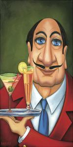 Sirio the Waiter by Will Rafuse