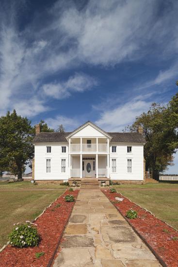 Will Rogers Birthplace, Oologah, Oklahoma City, Oklahoma, USA-Walter Bibikow-Photographic Print