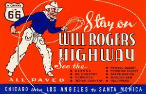 Will Rogers Highway, Route 66