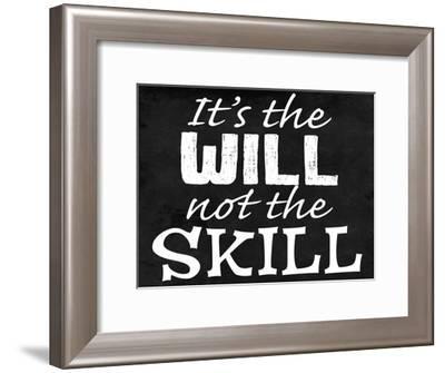 Will Skill 2-Marcus Prime-Framed Art Print