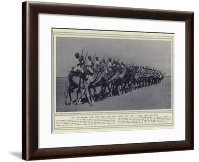 Will the Bikaner Camel Corps Bring their Usual Mounts with Them a Camel Corps from India--Framed Photographic Print
