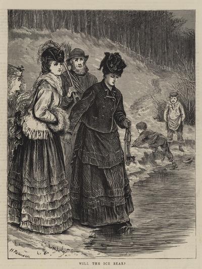 Will the Ice Bear?--Giclee Print