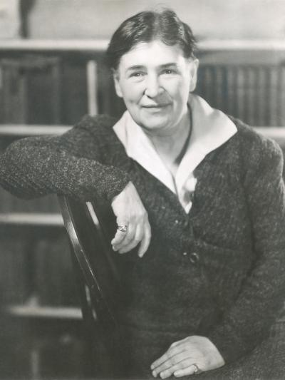 Willa Cather at the Time She Wrote Lucy Gayheart, Photo by Nicholas Muray, ca 1935--Photo