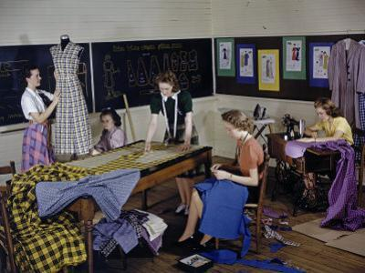 College Students Design and Sew Garments Made from Cotton by Willard Culver